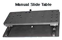 pneumatic slide table, manual slide table