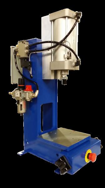 heat staking, heat staking machine, heat staking equipment, pneumatic presses, air press, 1/2 ton air press